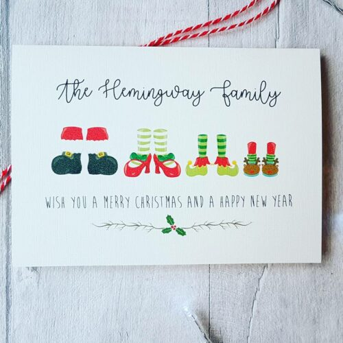 Personalised Christmas Cards Pack