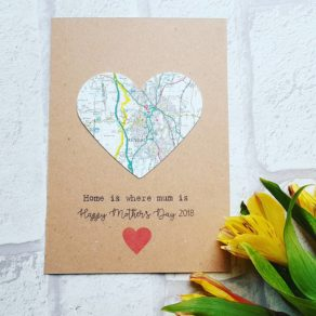 Mother's Day Map Card