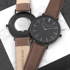Personalised Modern-Vintage Men's Watch