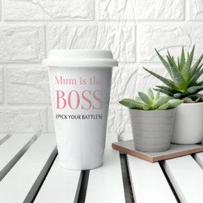 Personalised Boss Travel Mug