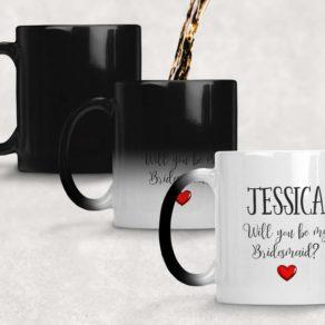 Personalised Bridesmaid Proposal Reveal Mug