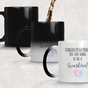 Personalised Colour Changing Reveal Mug