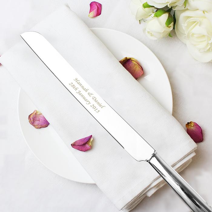 Personalised Heart Cake Knife