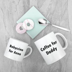 Personalised Daddy & Me Mugs