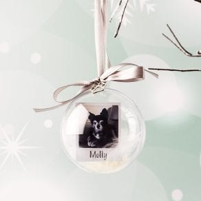 Personalised Pet Christmas Bauble