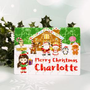 Personalised Christmas Jigsaw