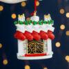 Personalised Family Stockings Mantelpiece Christmas Tree Decoration