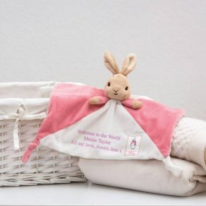 Personalised Flopsy Comforter