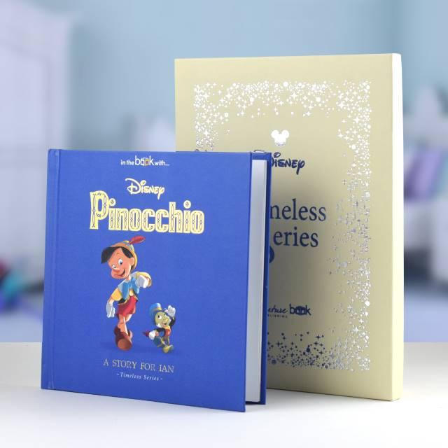 Pinocchio Personalised Timeless Disney Book