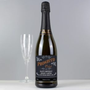 Personalised Prosecco O'Clock Bottle