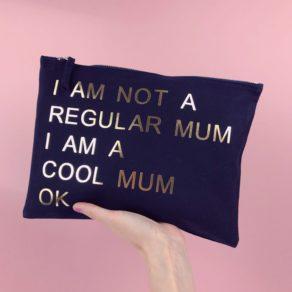 Cool Mum Personalised Make Up Bag