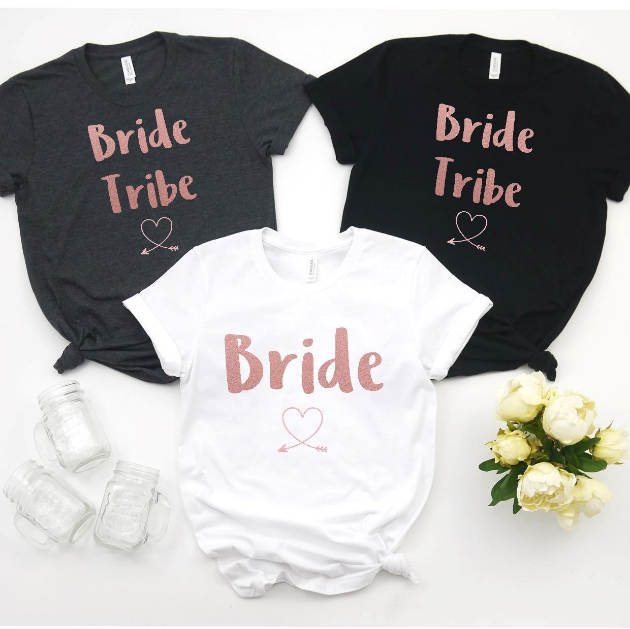 Personalised Bride Tribe Hen Party Tshirt