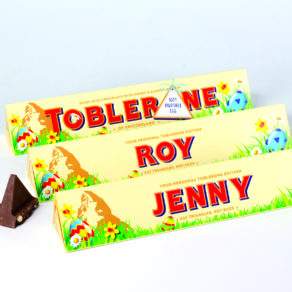 Personalised Easter Edition Toblerone Chocolate Bar
