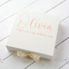 Ivory Personalised Bridesmaid Box