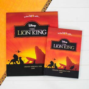 Personalised Premium Lion King Book