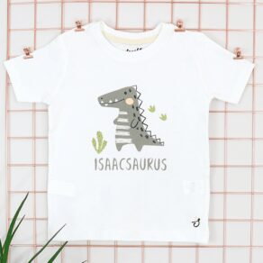 Personalised Baby and Kids Dino T-Shirt