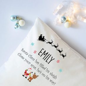 Personalised Christmas Eve Pillowcase
