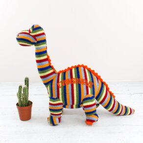 Personalised Dinosaur Teddy