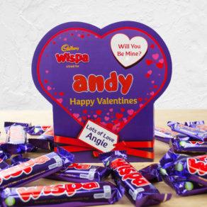 Personalised Valentine's Day Chocolate