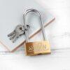 Personalised Love Initials Padlock