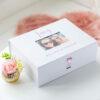Personalised White or Black Photo Keepsake Box