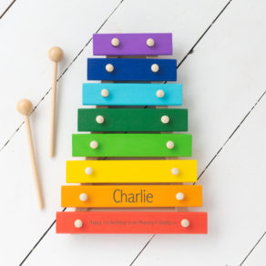 Personalised Kids Sounds Xylophone Toy