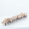 Personalised Kids Wooden Magnetic Train