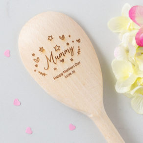 Personalised Wooden Baking Spoon