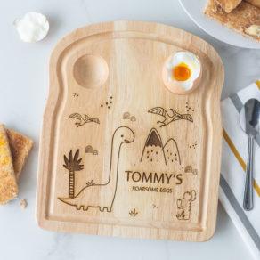 Personalised Diplousorous Dinosaur Breakfast Board
