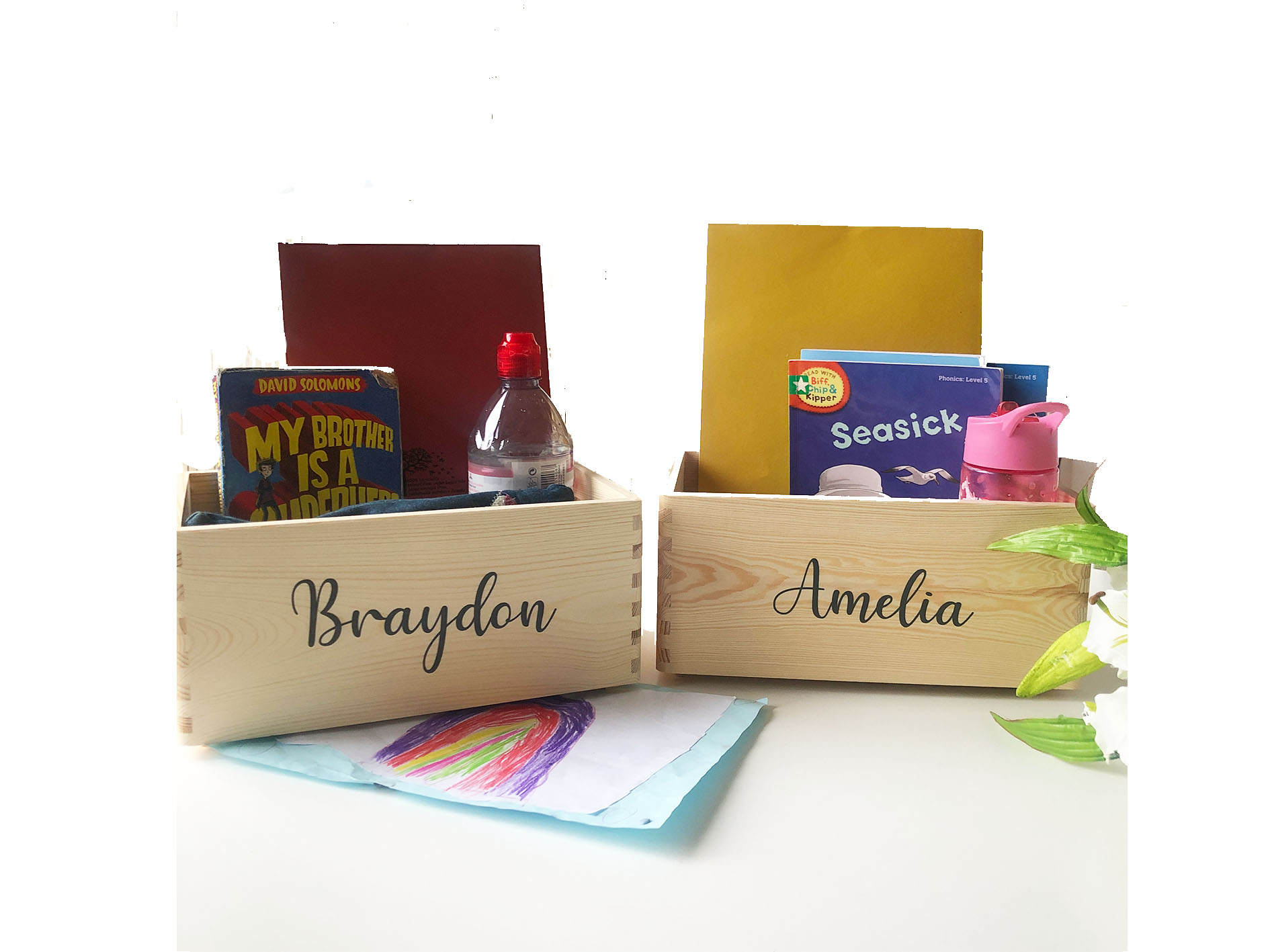 Personalised Wooden Crate