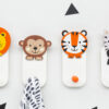 Personalised Wooden Jungle Wall Hooks
