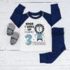 Personalised Lion Birthday Eve Pyjamas