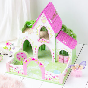 Personalised Wooden Kids Toy Fairy Princess Castle