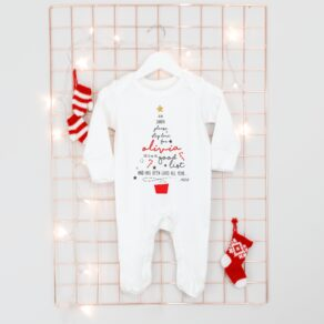 Personalised Dear Santa Babygrow