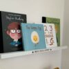 Personalised Wooden Book Shelf