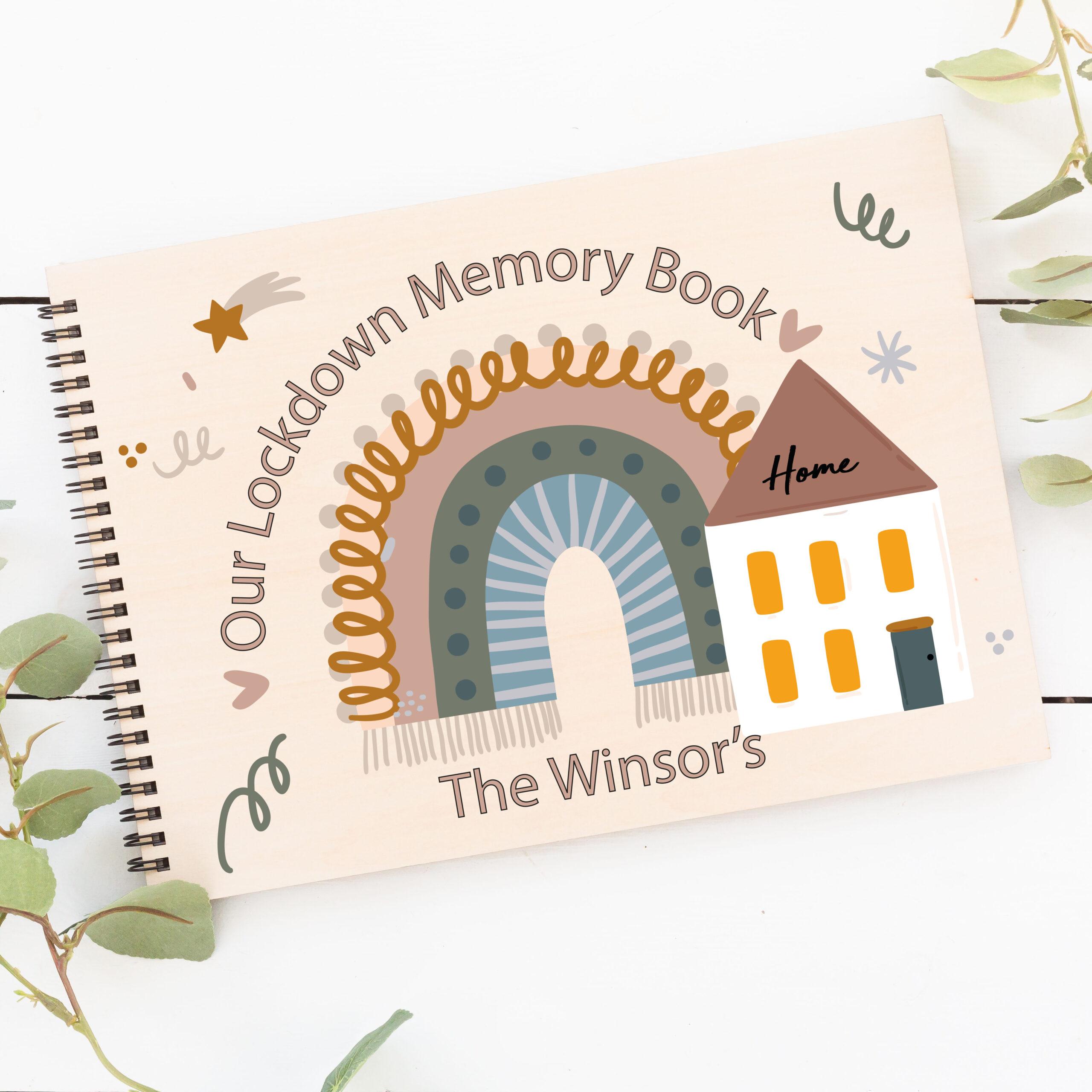Personalised Lockdown Memory Scrap Book
