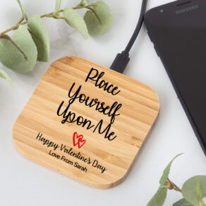 Personalised Valentine's Wireless Charger