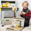 Personalised Kids Wooden Miniwob Workbench