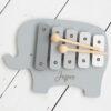 Personalised Kids Wooden Elephant Xylophone Toy