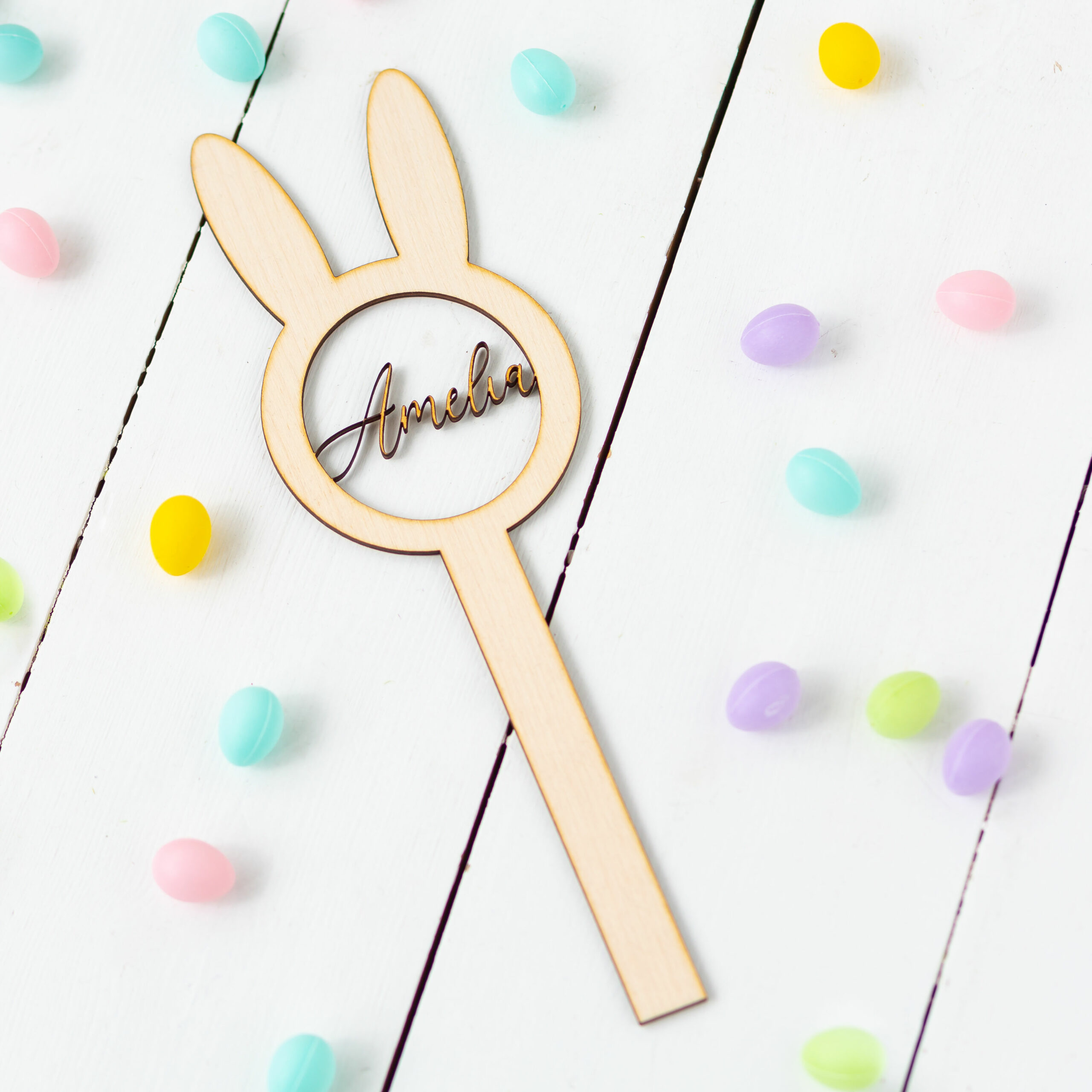 Personalised Wooden Easter Wand