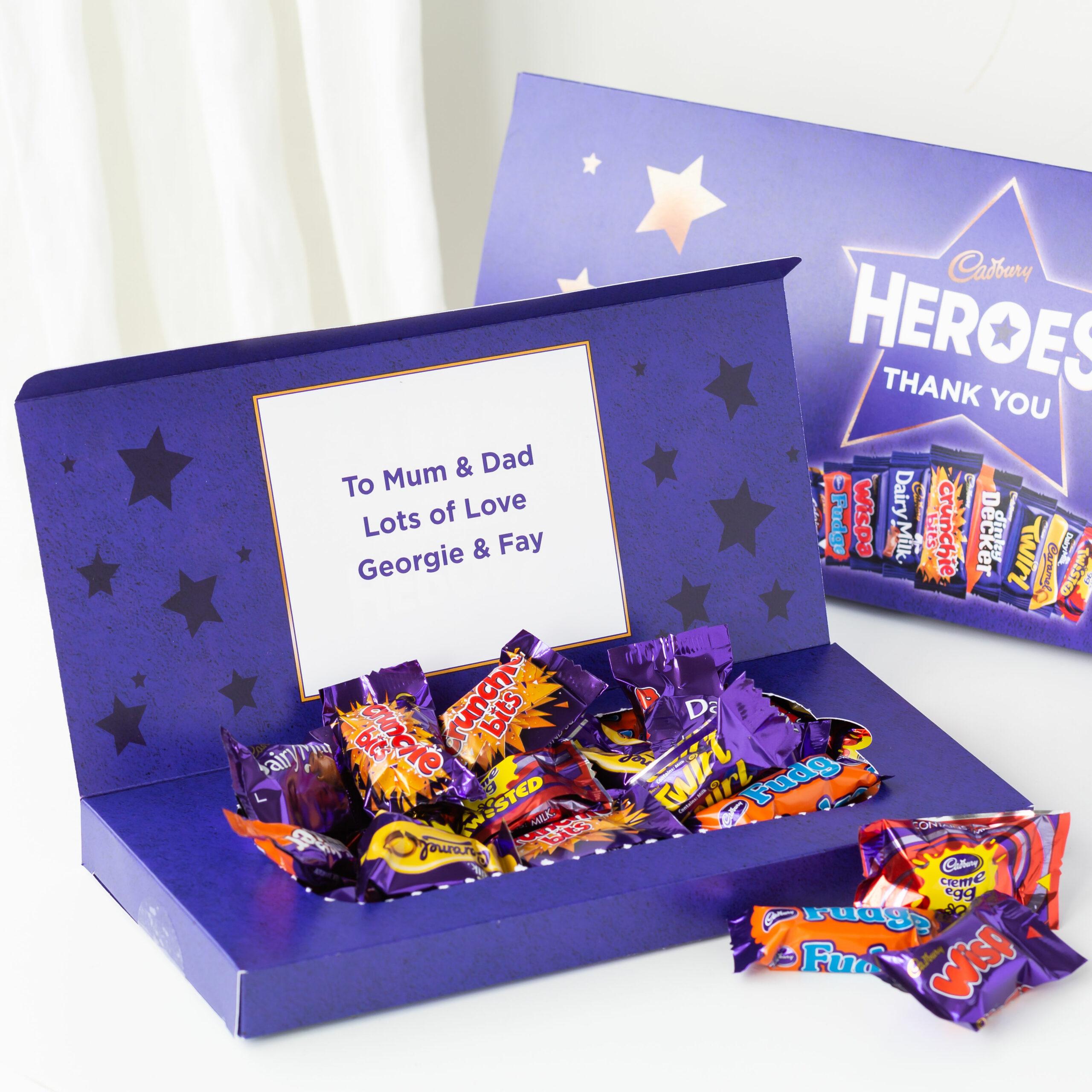 Personalised Cadbury Chocolate Heroes Mailbox Selection 290g (Copy)
