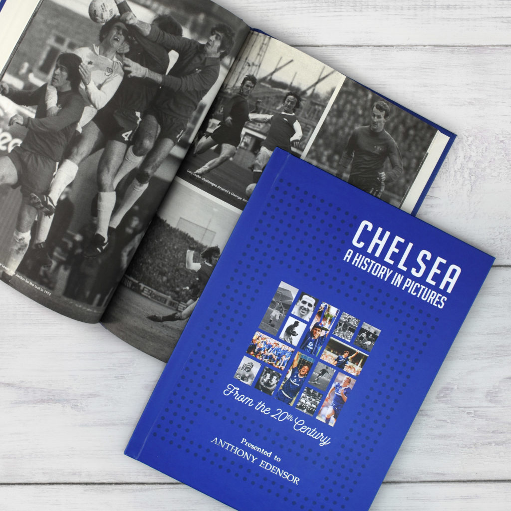 A4 Personalised Hardback Football Team History In Pictures