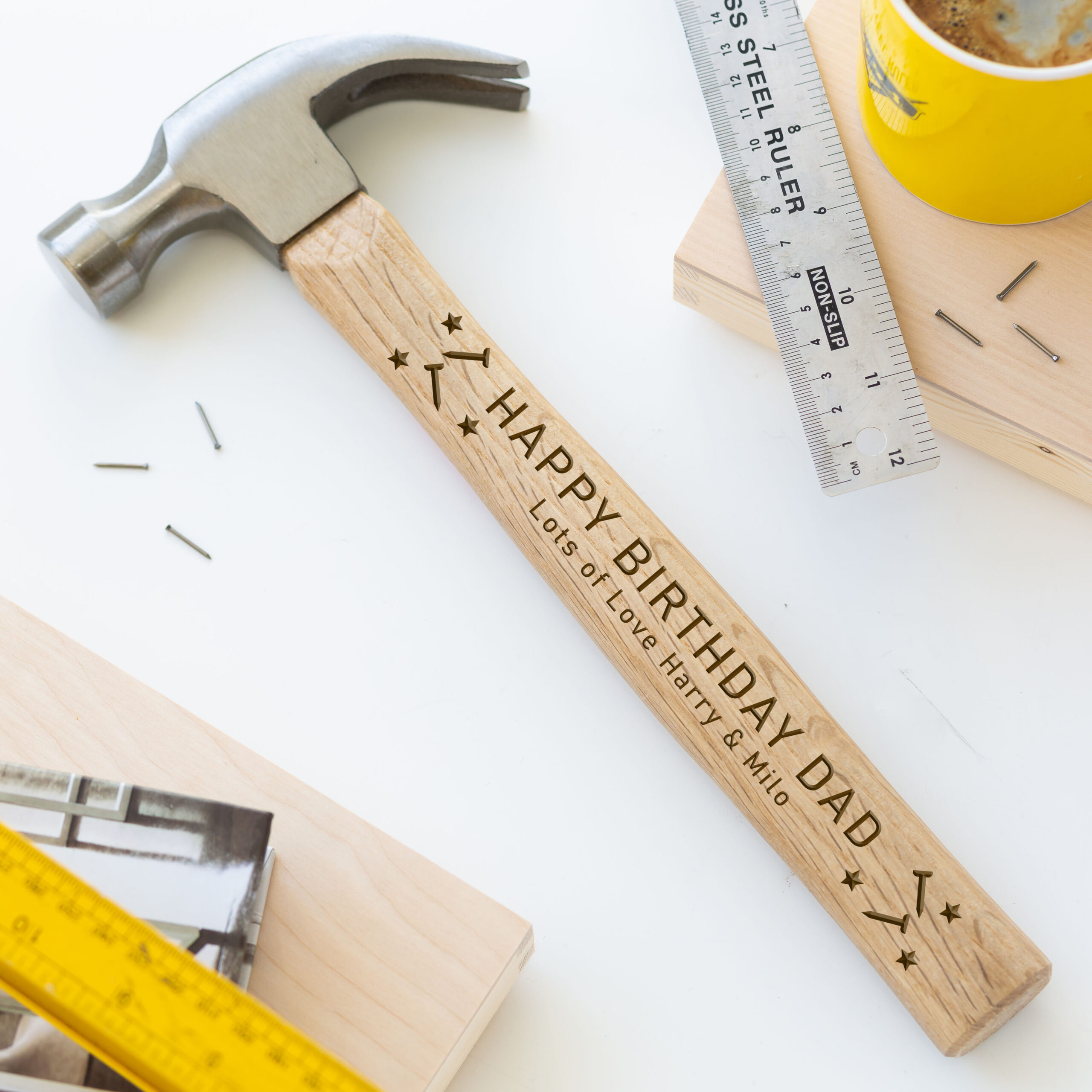Personalised Engraved Hammer