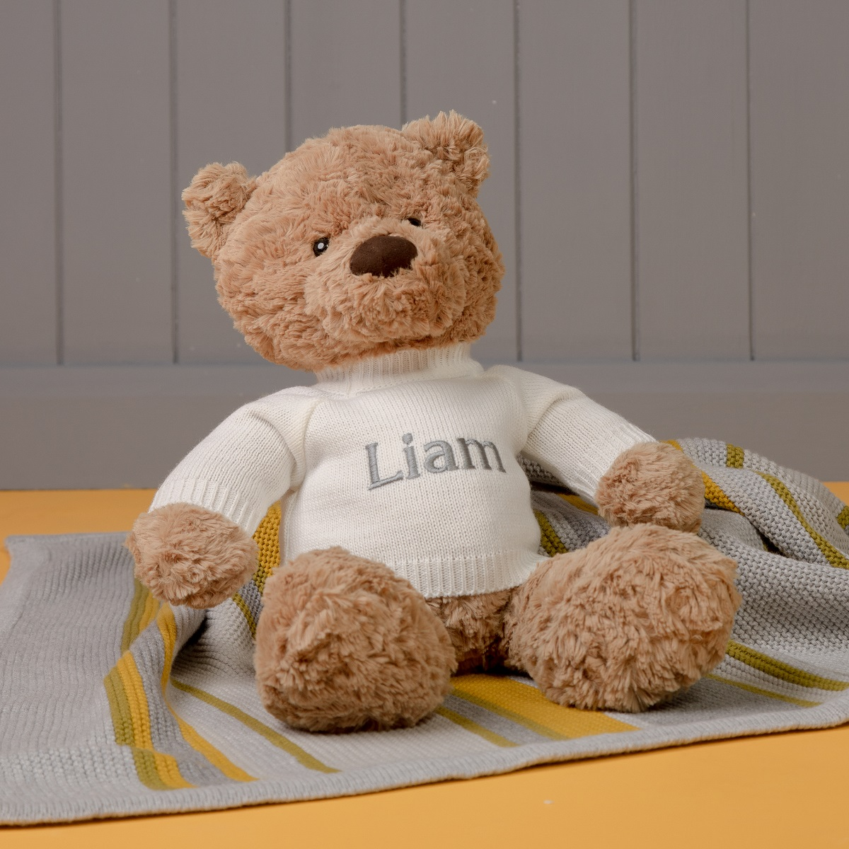 Personalised Jellycat Bumbly Bear Large Teddy Soft Toy