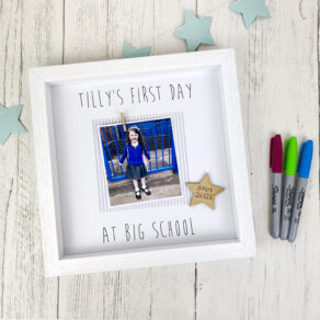 First Day at Big School Photo Frame