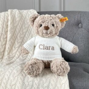 Personalised Steiff Honey Bear Medium Soft Toy