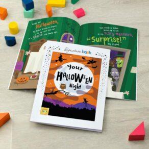 Personalised Kids Halloween Book