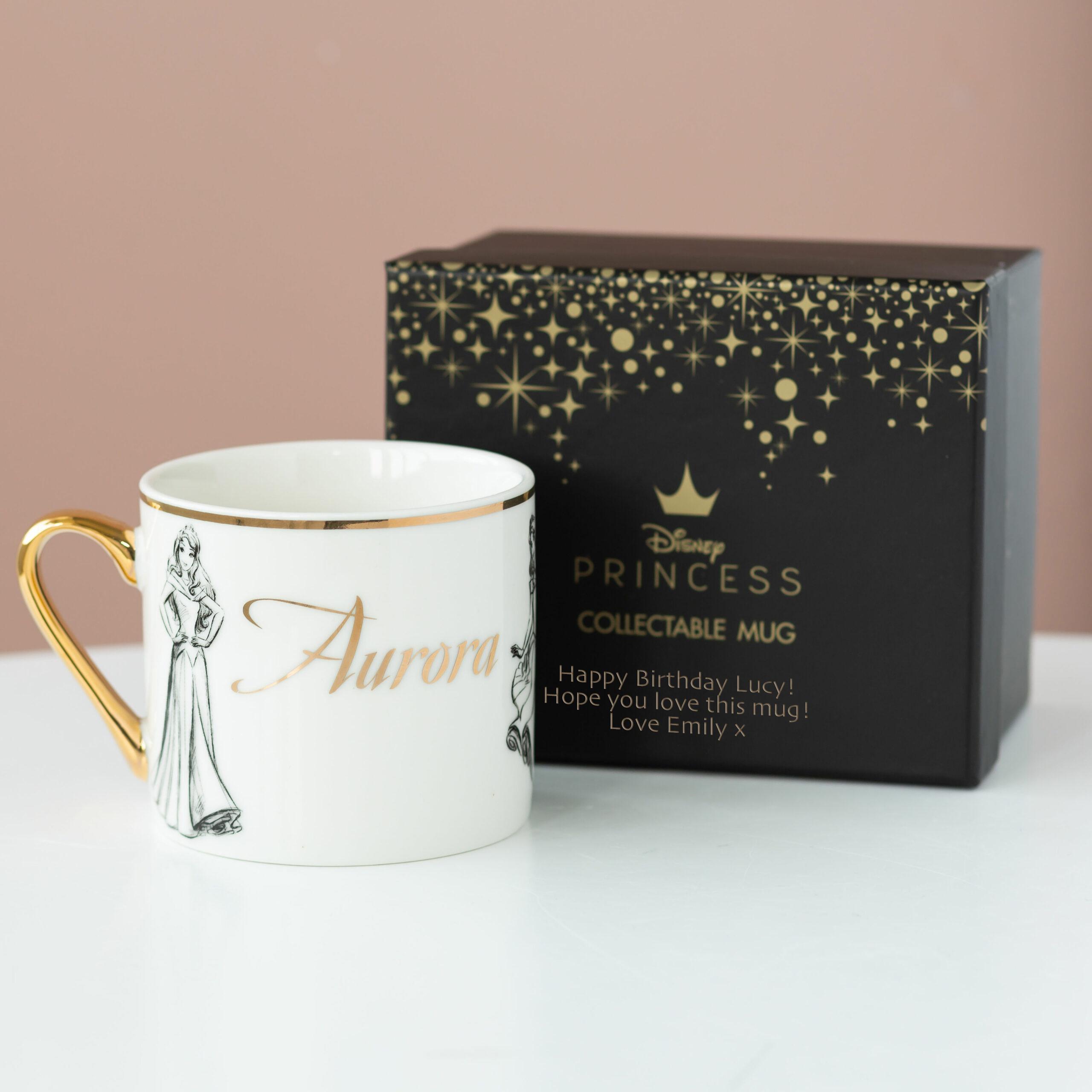 Aurora Disney Limited Edition Mug with Personalised Gift Box