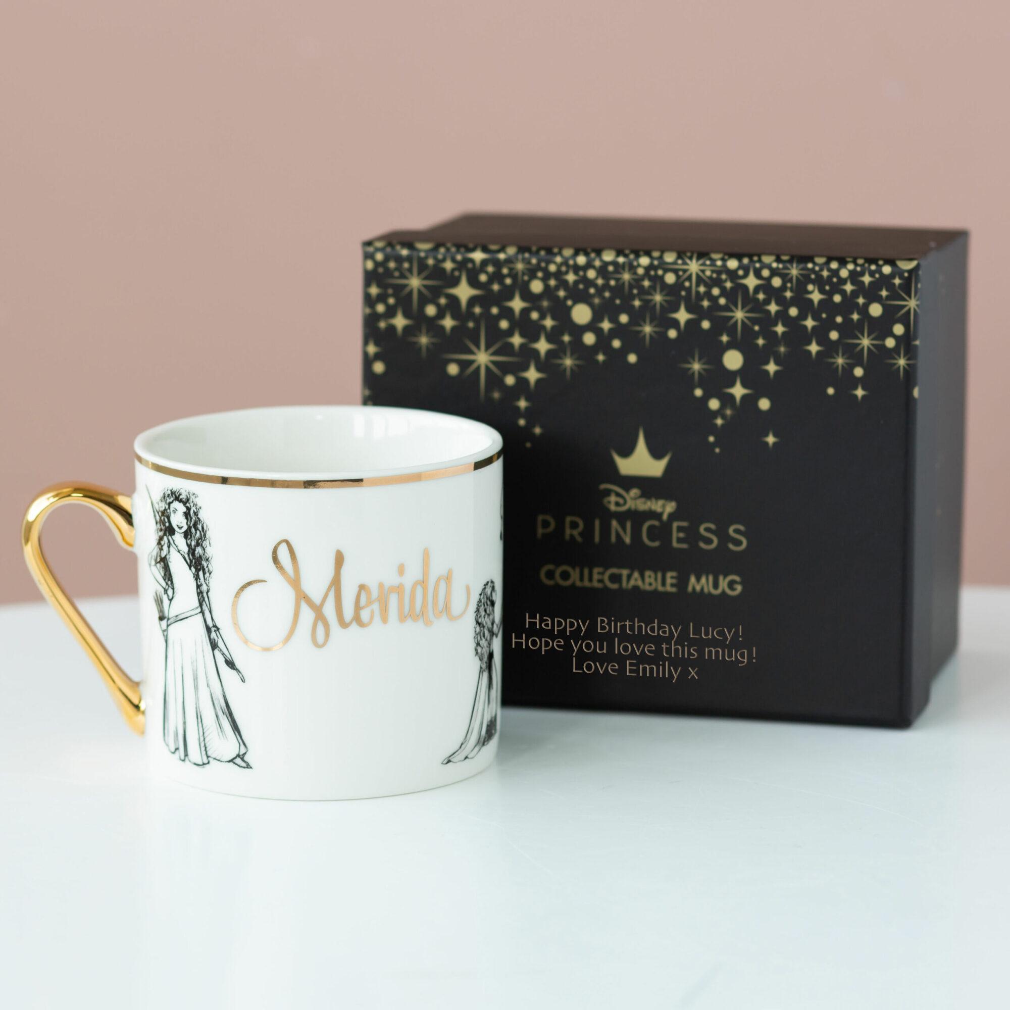 Merida Disney Limited Edition Mug with Personalised Gift Box