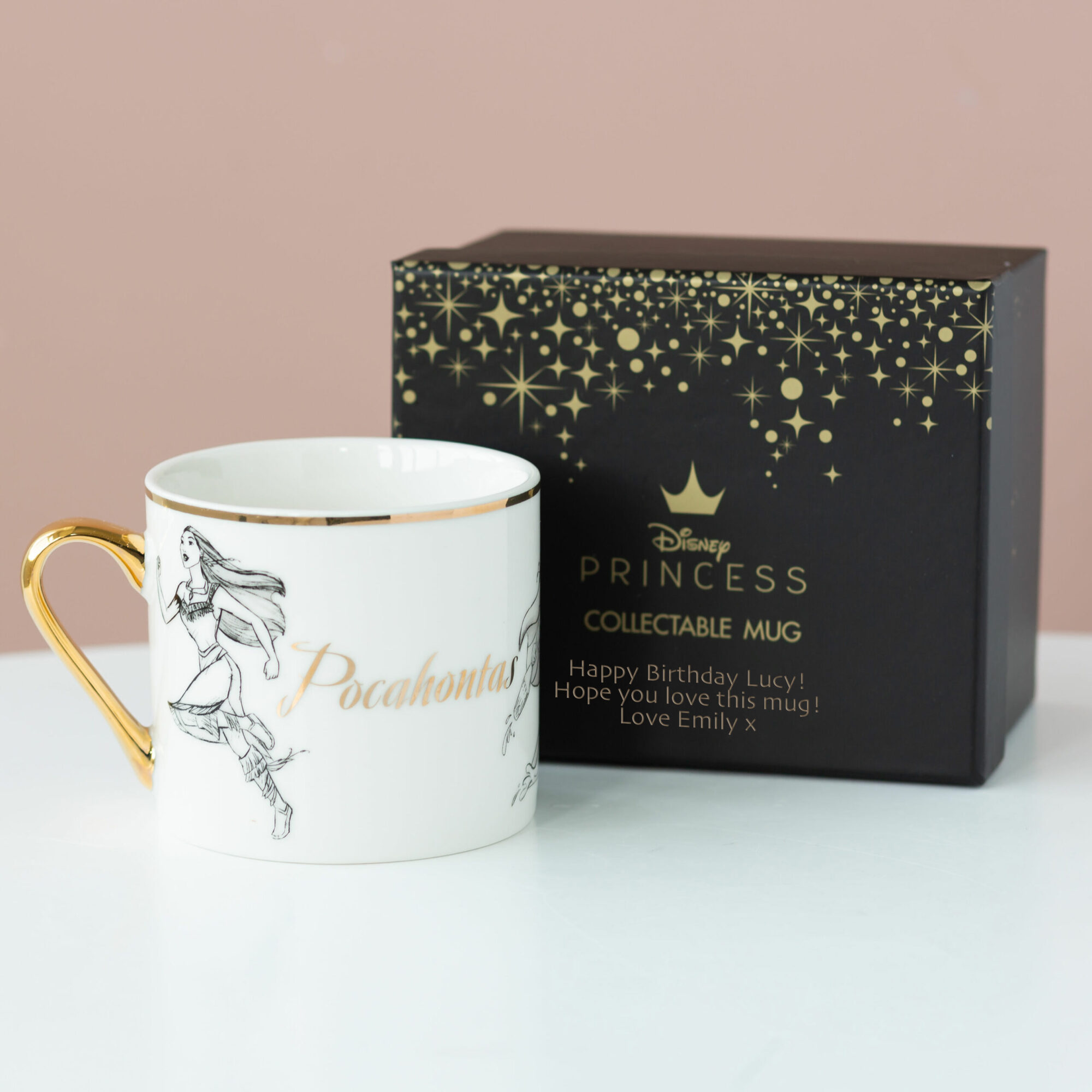 Pocahontas Disney Limited Edition Mug with Personalised Gift Box
